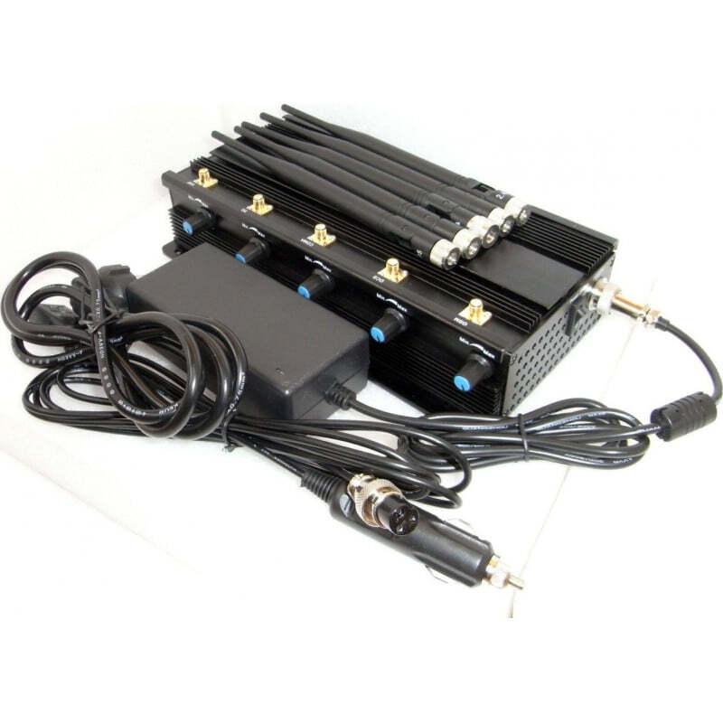 Ferngesteuerte Störsender Universal. Alle Fernbedienungen signalisieren Blocker