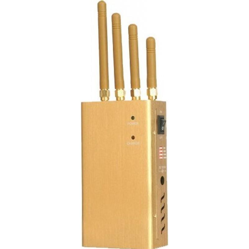 122,95 € 送料無料 | 携帯電話ジャマー ポータブル信号ブロッカー Portable