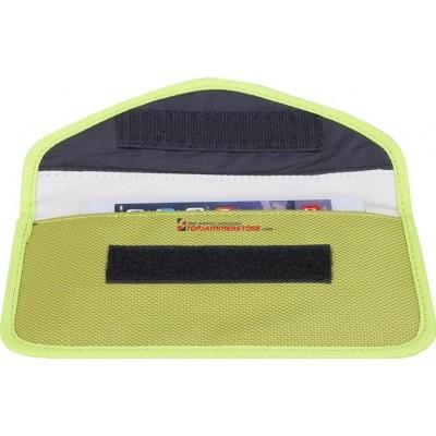 ジャマーアクセサリー 携帯電話信号ブロッカーポーチバッグ。放射線対策。消泡防止