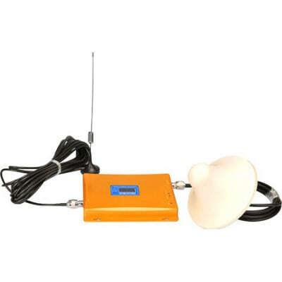 High power dual band signal booster