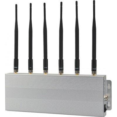 135,95 € Envío gratis | Bloqueadores de Teléfono Móvil bloqueador de señal de 6 bandas 3G