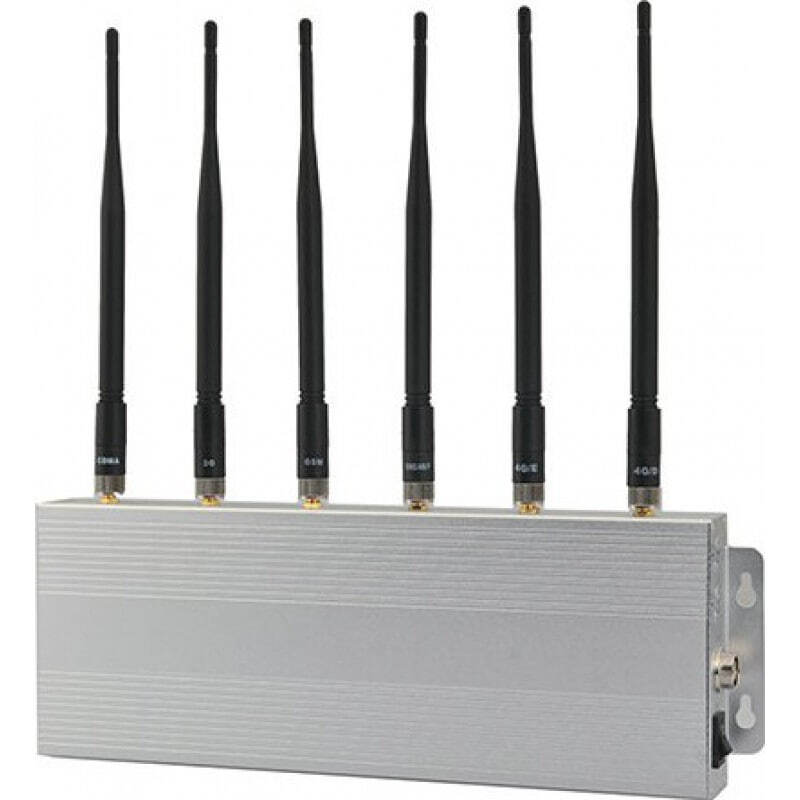 135,95 € 免费送货 | 手机干扰器 6频段信号阻断器 3G