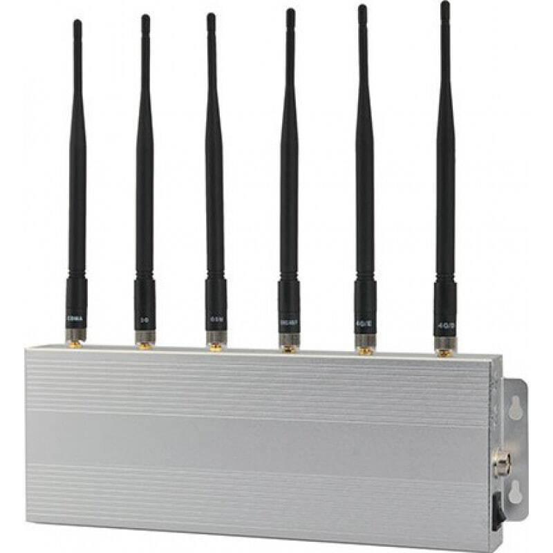 135,95 € Envoi gratuit | Bloqueurs de Téléphones Mobiles bloqueur de signal 6 bandes 3G