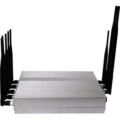 手机干扰器 强大的信号阻断器。 8个天线 VHF