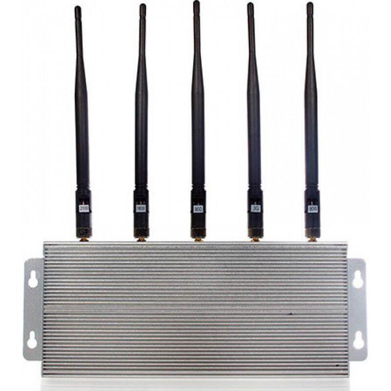Bloqueurs de Téléphones Mobiles bloqueur de signal 5 bandes GSM