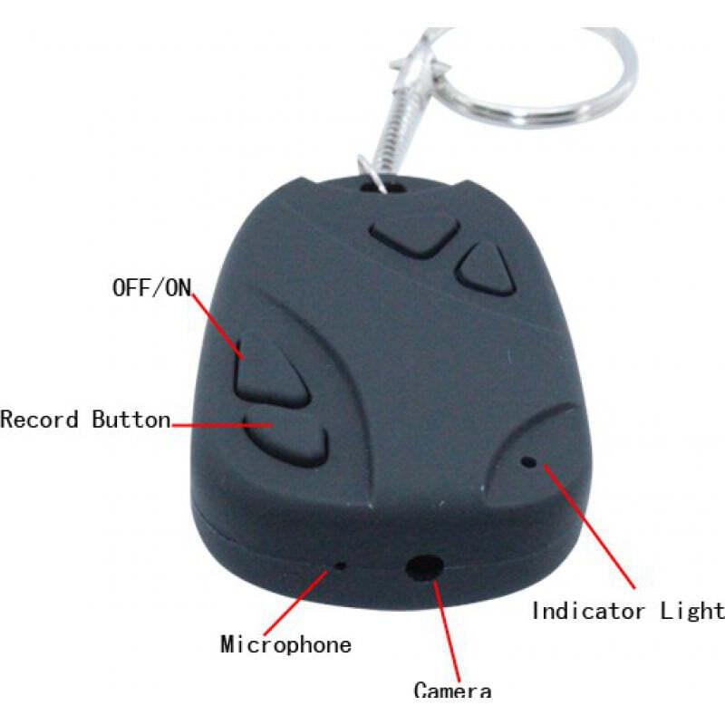7,95 € Free Shipping   Car Key Hidden Cameras Digital video recorder spy camera. Keychain car remote style. High definition