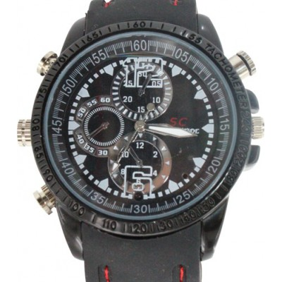 39,95 € Kostenloser Versand | Armbanduhren mit versteckten Kameras Spy Fashion Armbanduhr. Digitaler Videorecorder (DVR). Versteckte Kamera. Wasserdicht. 2.0MP Kamera. 30 fps 8 Gb 480P HD