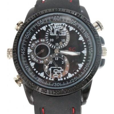 39,95 € Envio grátis | Relógios de Pulso Espiã Relógio de pulso de moda espião. Gravador de vídeo digital (DVR). Câmera escondida. À prova d'água. Câmera de 2.0MP. 30FPS 8 Gb 480P HD