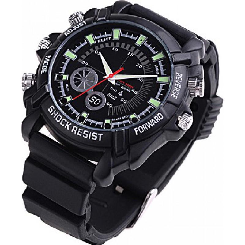 53,95 € Envoi gratuit   Montres à Bracelet Espion Caméra espion infrarouge HD étanche. Mini enregistreur vidéo numérique (DVR) 8 Gb 1080P Full HD