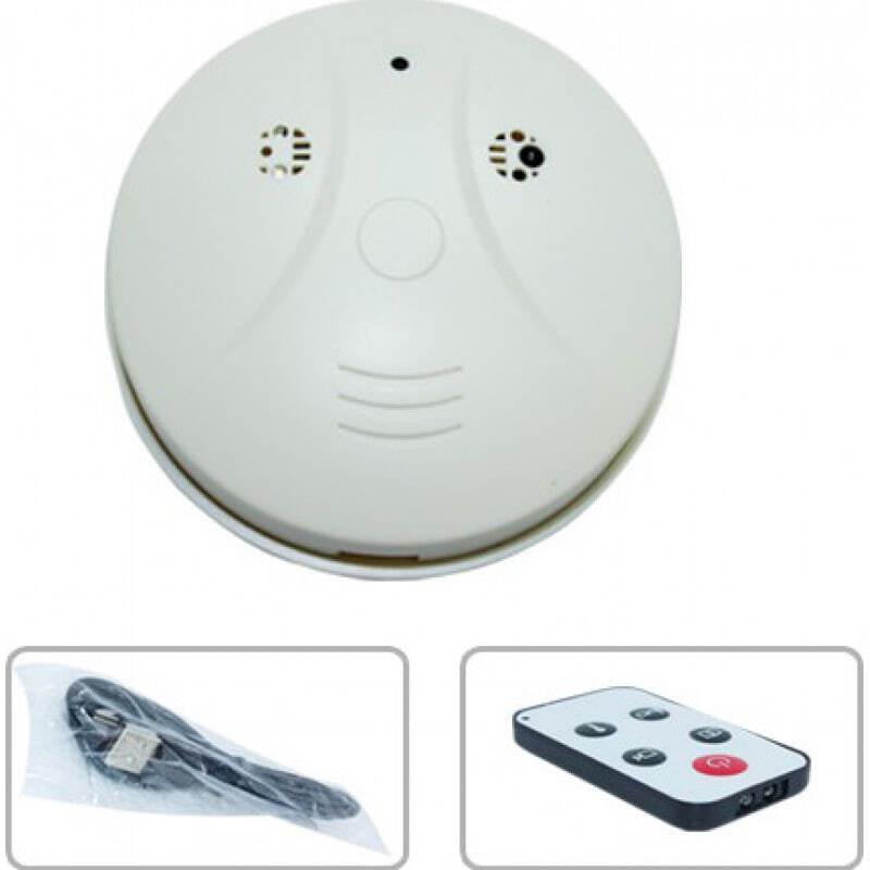 36,95 € Envoi gratuit   Autres Caméras Espion Détecteur de fumée espion. Caméra cachée. Enregistreur vidéo numérique (DVR). Imperméable