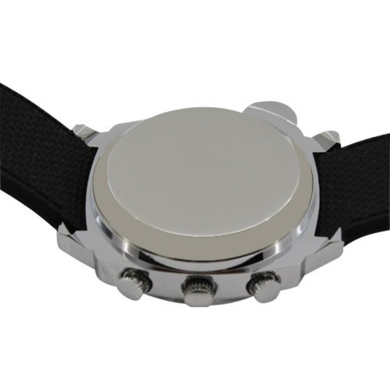 63,95 € Free Shipping | Watch Hidden Cameras Spy wrist watch. Hidden camera. Digital video recording. Leather belt. Waterproof. Compass 8 Gb 1080P Full HD