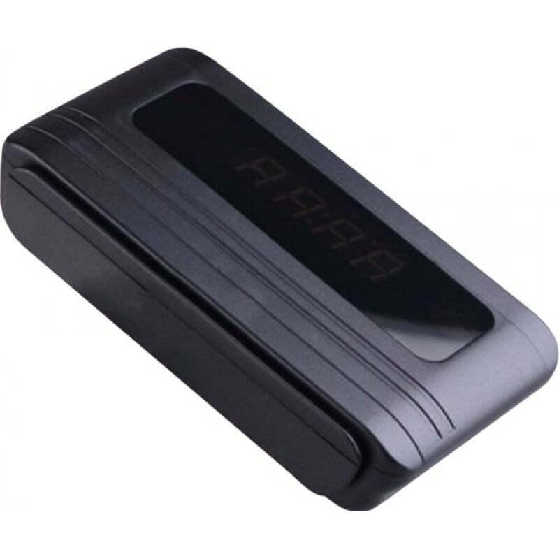 52,95 € Envoi gratuit | Montres Espion Réveil multifonctionnel. Détection de mouvement. Spy Camara caché. Enregistreur vidéo numérique (DVR). Noir 720P HD