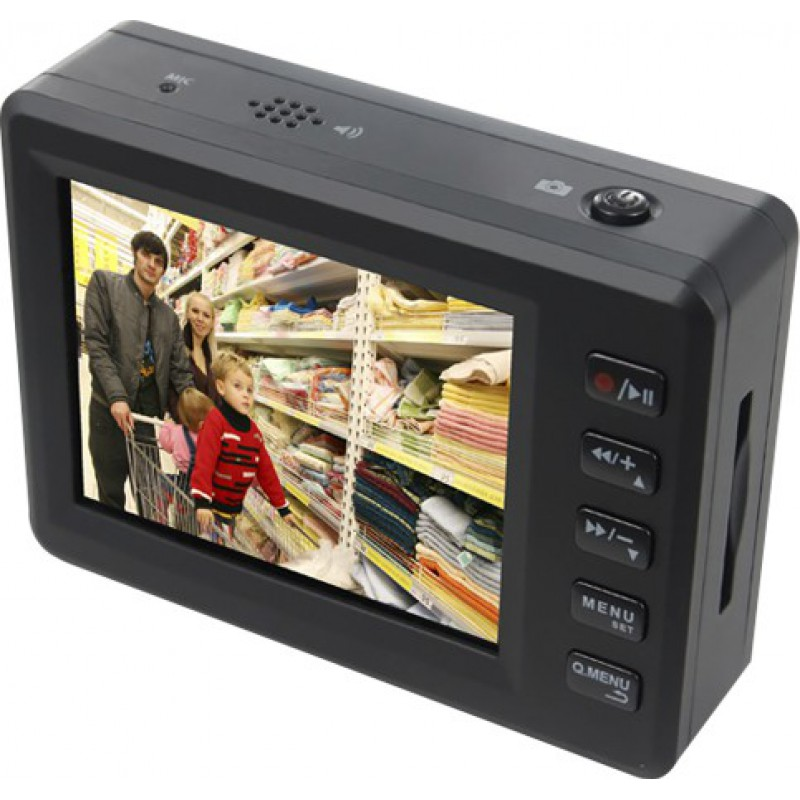 111,95 € Free Shipping | Other Hidden Cameras Angel eye. Mini digital video recorder (DVR). Pinhole hidden camera. Motion detection. One touch recording. 2.5 Inch screen