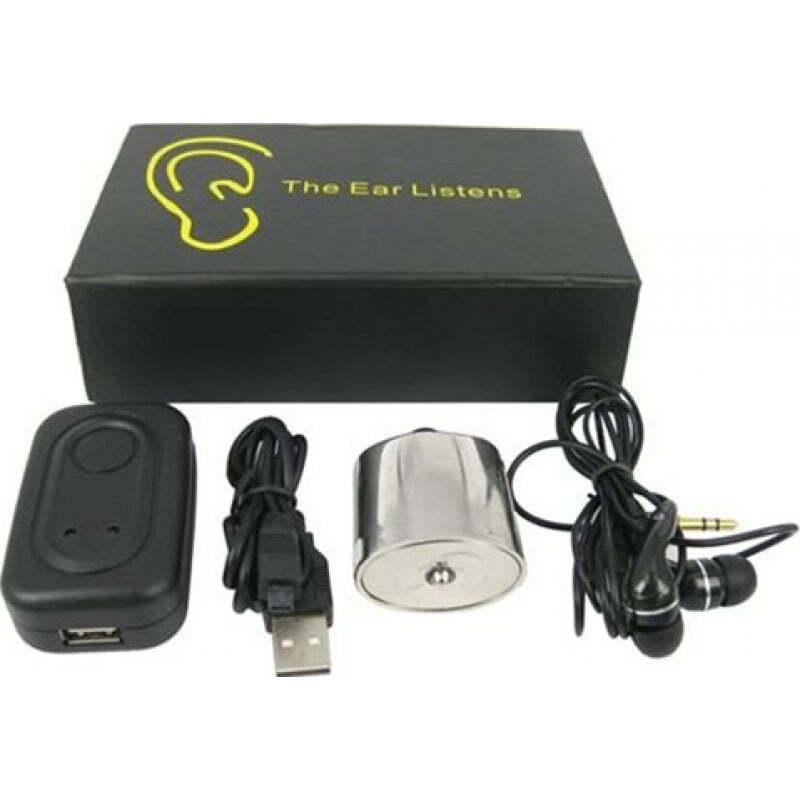 52,95 € Envoi gratuit | Détecteurs de Signal Dispositif d'écoute audio haute sensibilité pour l'inspecteur. Moniteur de détection de mur. Dispositif de surveillance audio es