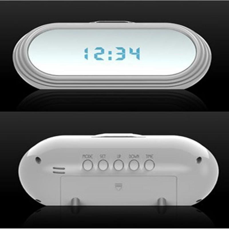 59,95 € Envoi gratuit | Montres Espion Réveil multifonctionnel. Télécommande (RC). Mini caméra cachée. Enregistreur vidéo numérique (DVR). Longue durée d'enregistremen 1080P Full HD