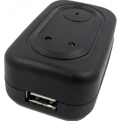 Mini chargeur adaptateur avec caméra espion. Enregistreur vidéo numérique (DVR). Caméra cachée 720P HD