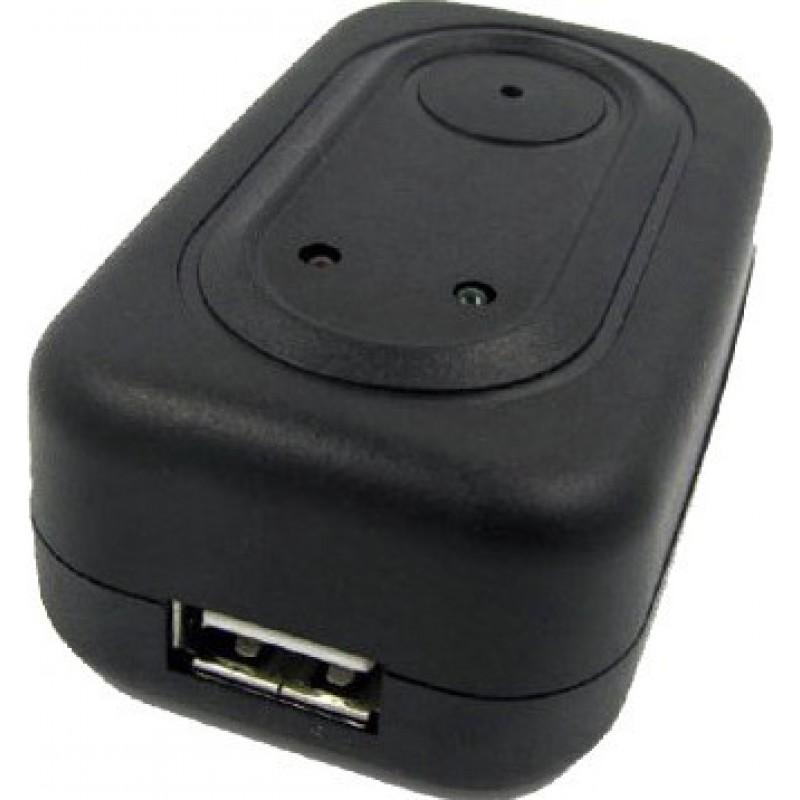 Andere versteckte Kameras Mini-Adapter-Ladegerät mit Spionagekamera. Digitaler Videorecorder (DVR). Versteckte Kamera 720P HD