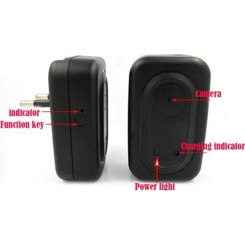 Autres Caméras Espion Mini chargeur adaptateur avec caméra espion. Enregistreur vidéo numérique (DVR). Caméra cachée 720P HD