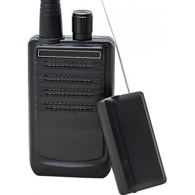 Drahtloses Audio-Übertragungssystem. Tragbares Sprachüberwachungsgerät für Spione. 500 Meter Reichweite