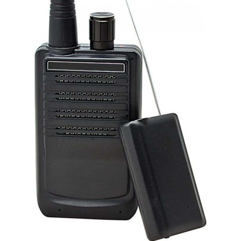 Signalmelder Drahtloses Audio-Übertragungssystem. Tragbares Sprachüberwachungsgerät für Spione. 500 Meter Reichweite