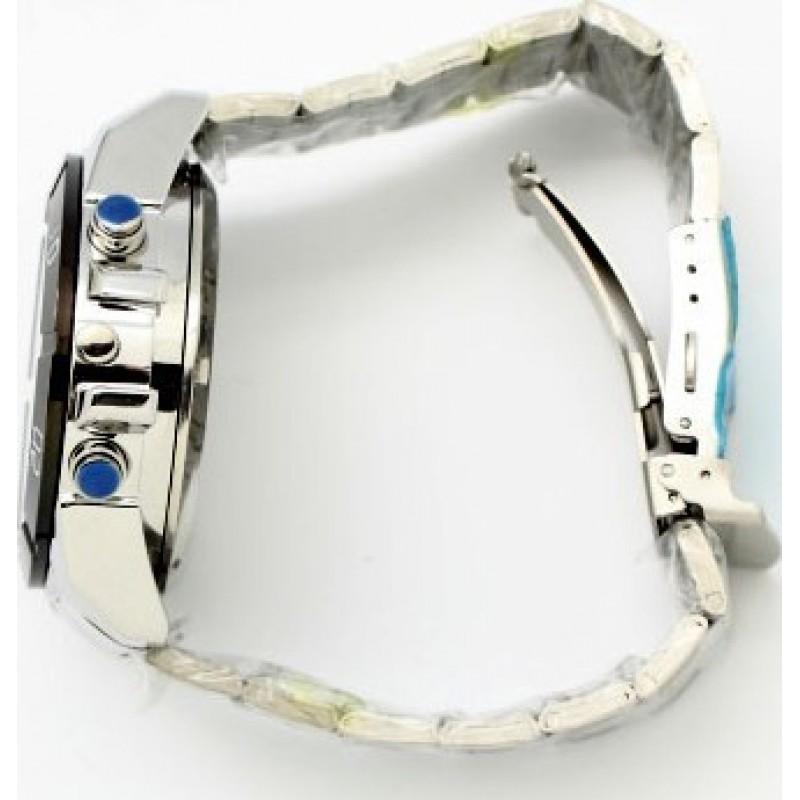 Montres à Bracelet Espion Regarder la caméra espion sténopé. Enregistreur vidéo numérique (DVR). Vision nocturne automatique IR. Fente pour carte tf 720P HD