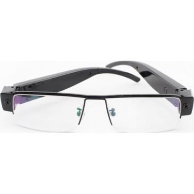 44,95 € 免费送货 | 眼镜隐藏的相机 时尚间谍眼镜。太阳镜间谍相机。间谍相机数字视频录像机(DVR)。 500万像素 1080P Full HD