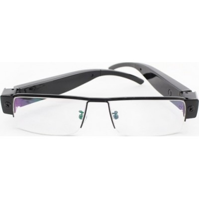 44,95 € Free Shipping | Glasses Hidden Cameras Fashion Spy eyewear. Sunglasses spy camera. Spy Camera digital video recorder (DVR). 5 Megapixel 1080P Full HD