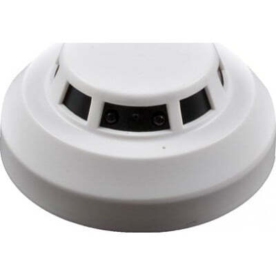 61,95 € Free Shipping | Other Hidden Cameras Smoke detector hidden camera. Spy camera. Digital video recorder (DVR). Motion detection. Remote control. H264. IR Night vision 1080P Full HD