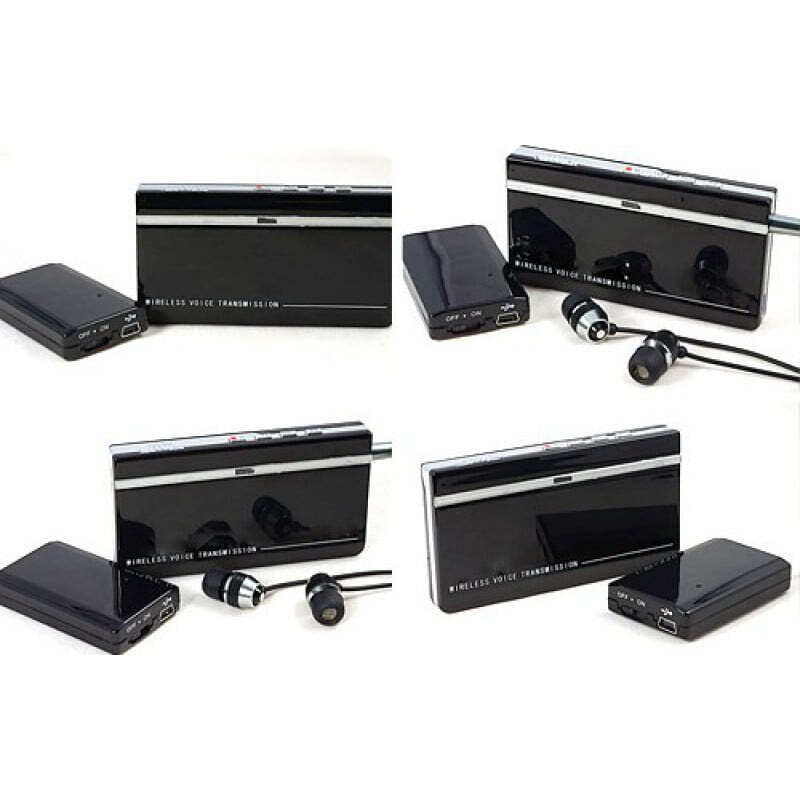 Signal Detectors Mini wireless audio monitoring. Transmitter and receiver kits. Ultra long standby time. Wide operation range