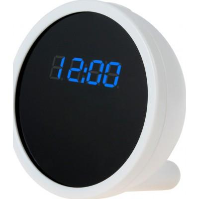 69,95 € 免费送货 | 时钟隐藏的相机 间谍时钟。隐藏的相机。运动检测。数字录像机(DVR)。 H264 /无线/ WiFi / IP。 iPhone / Android智能手机moni 720P HD