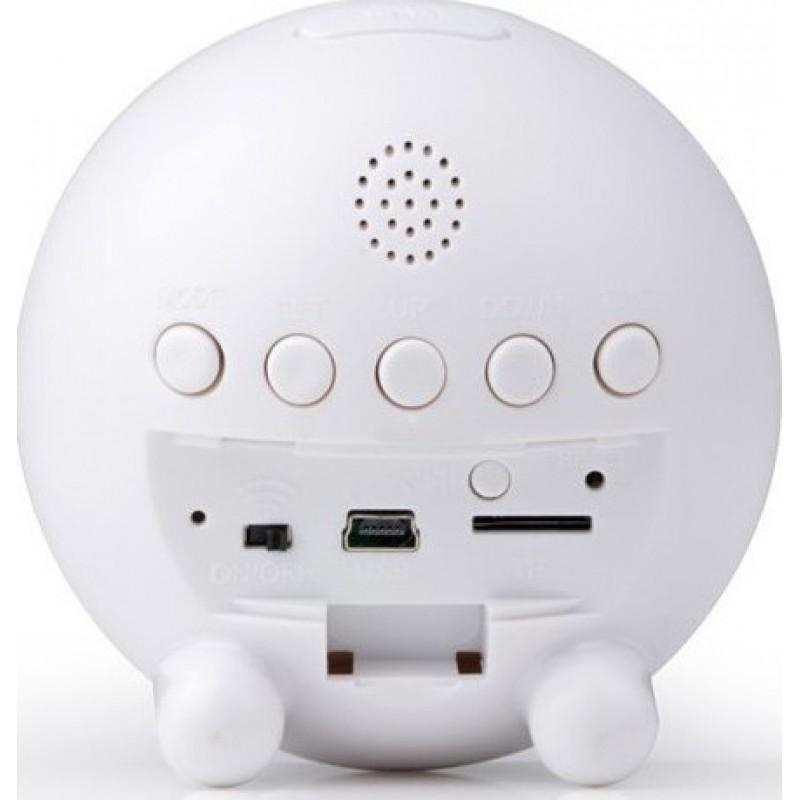 69,95 € Envoi gratuit | Montres Espion Horloge Espion Caméra cachée. Détection de mouvement. Enregistreur vidéo numérique (DVR). H264 / Sans fil / WiFi / IP. Moni smar 720P HD