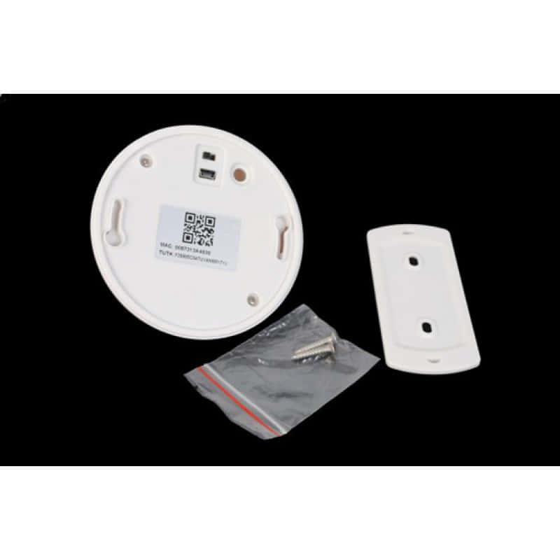 52,95 € Envoi gratuit | Autres Caméras Espion Détecteur de fumée caméra cachée. Sans fil / WiFi. Téléphones intelligents et contrôlés par PC 720P HD