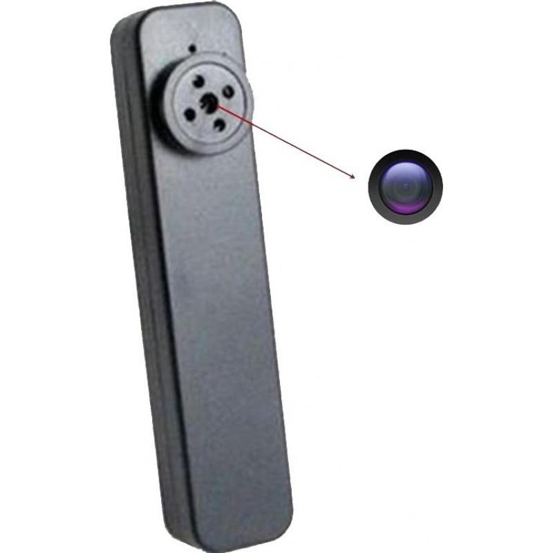 36,95 € Envoi gratuit | Autres Caméras Espion Bouton caméra cachée. Mini caméra espion. Fente pour carte TF. Détection de mouvement. Enregistrement en boucle 1080P Full HD