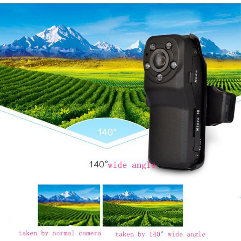 44,95 € Бесплатная доставка | Другие скрытые камеры 140 градусов широкий угол. Мини цифровой видеорегистратор (DVR). Скрытая камера. Определение движения. ИК ночного видения. Памят 1080P Full HD
