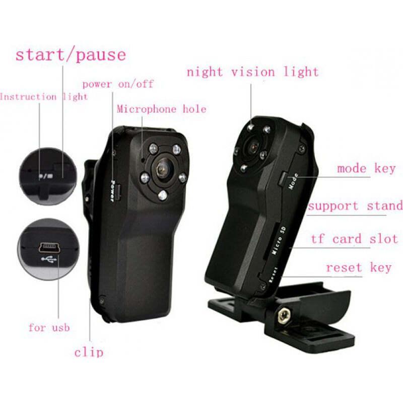 44,95 € Kostenloser Versand | Andere versteckte Kameras 140 Grad Weitwinkel. Mini Digital Video Recorder (DVR). Versteckte Kamera. Bewegungserkennung. IR Nachtsicht. Speicher bis zu 64 1080P Full HD