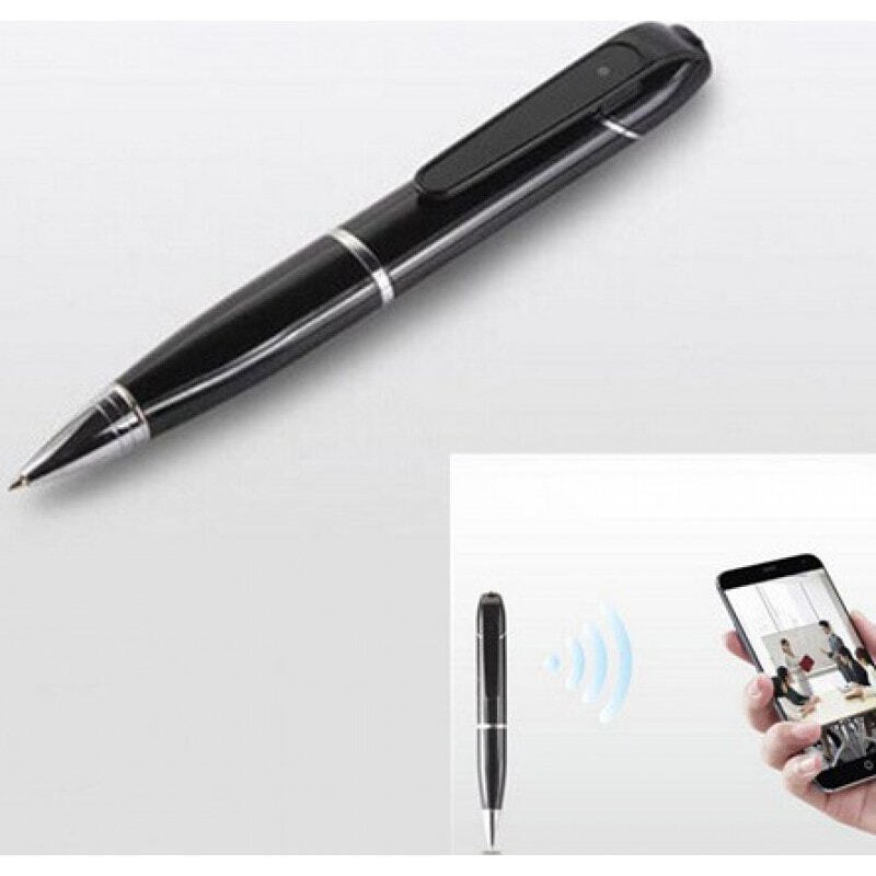 64,95 € Free Shipping   Pen Hidden Cameras Spy pen. Hidden video camera. H264/Wireless/WiFi/IP. Android and IOS Cell Phone 720P HD