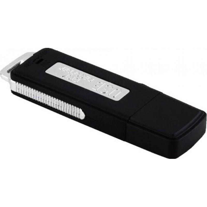 Détecteurs de Signal Clé USB cachée. Enregistreur vocal de surveillance 8 Gb