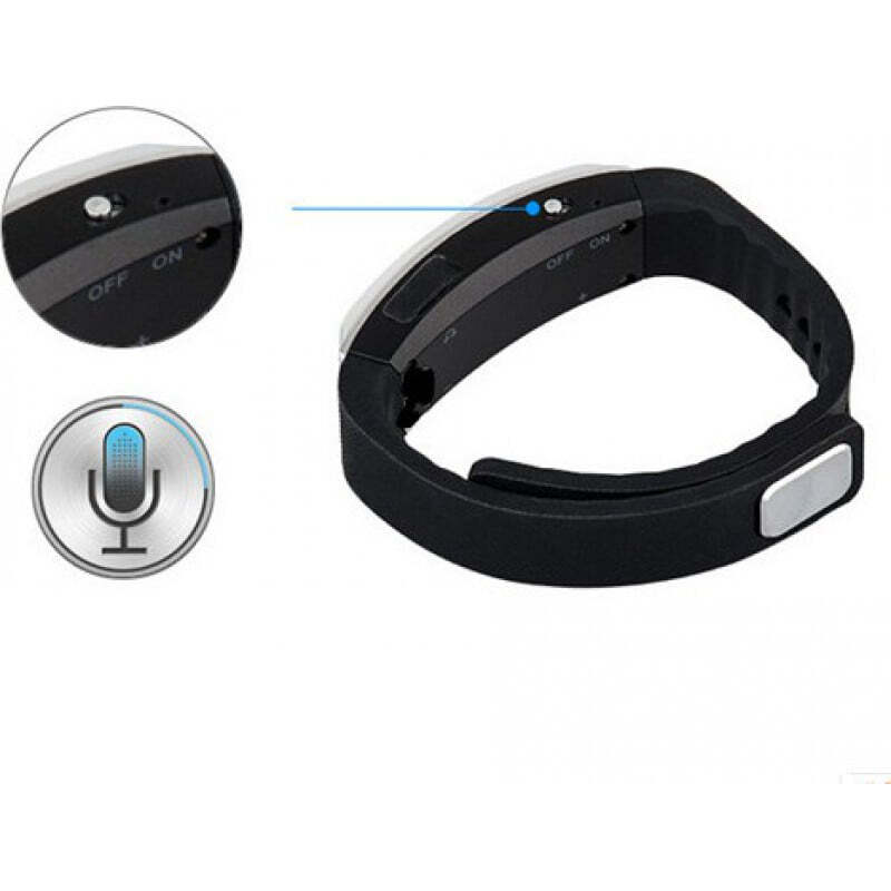 Signalmelder Multifunktionales Armband für MP3 und Smart Voice Recorder 16 Gb