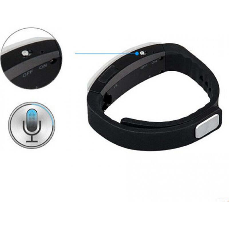 Сигнальные Многофункциональный браслет MP3 и умный диктофон 16 Gb