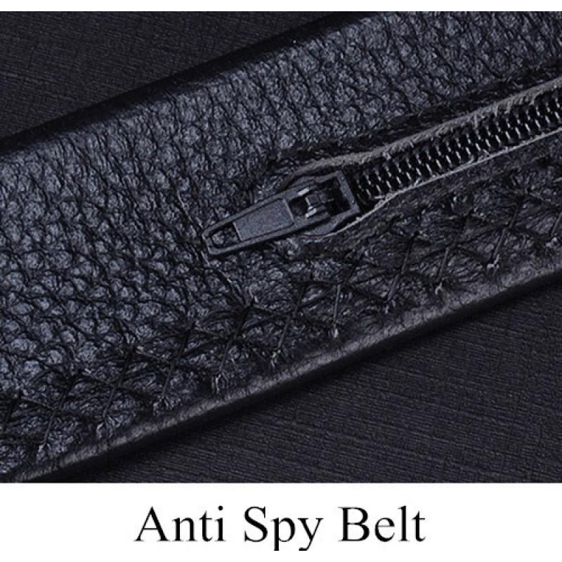 Скрытые шпионские гаджеты Водонепроницаемый кожаный чехол для денег