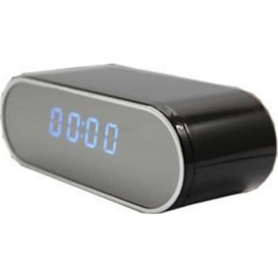 59,95 € Бесплатная доставка | Шпионские часы Скрытая камера. Шпионская настольная камера с часами. Удаленный беспроводной контроллер. Видеокамера. Цифровой видеорегистратор 1080P Full HD