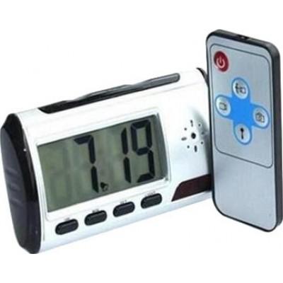 16,95 € 免费送货 | 时钟隐藏的相机 数字闹钟。隐藏的间谍相机。运动检测。 2.5英寸LCD。间谍相机。遥控器