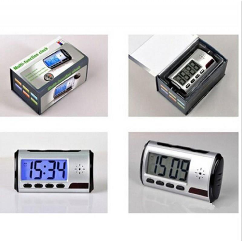 16,95 € Kostenloser Versand   Uhren mit versteckten Kameras Digitaler Wecker. Versteckte Spionagekamera. Bewegungserkennung. 2,5 Zoll LCD. Spionage-Kamera. Fernbedienung