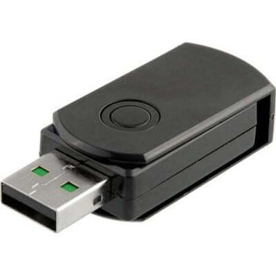 32,95 € Envoi gratuit | Clé USB Espion Périphérique USB espion. Clé USB caméra cachée. Détection de mouvement. Enregistreur vidéo numérique (DVR) 1080P Full HD