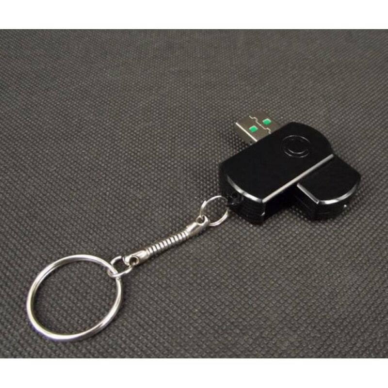 32,95 € 免费送货   USB驱动器隐藏式摄像头 间谍USB设备。 USB闪存盘隐藏摄像头。运动检测。数字录像机(DVR) 1080P Full HD