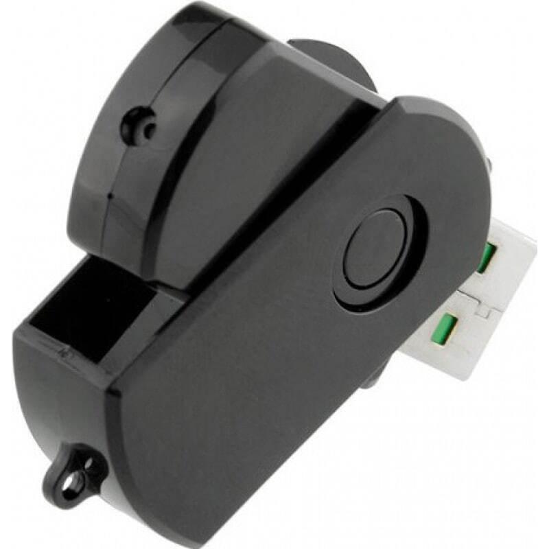 32,95 € Envoi gratuit | USB Espion Périphérique USB espion. Clé USB caméra cachée. Détection de mouvement. Enregistreur vidéo numérique (DVR) 1080P Full HD