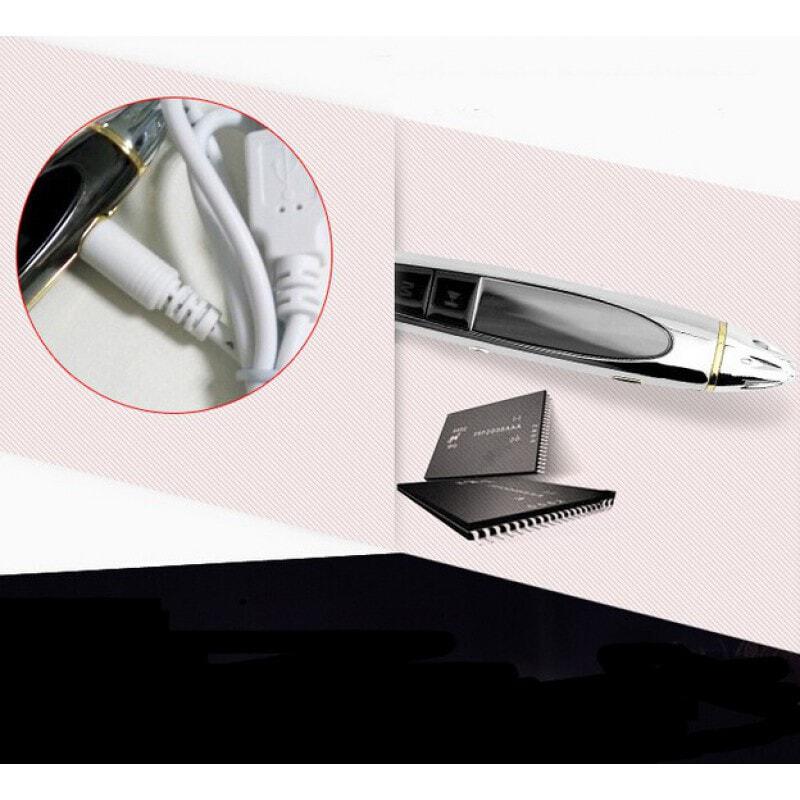 Détecteurs de Signal Mini enregistreur vocal. Fonction de pointeur laser. Fonction MP3 8 Gb