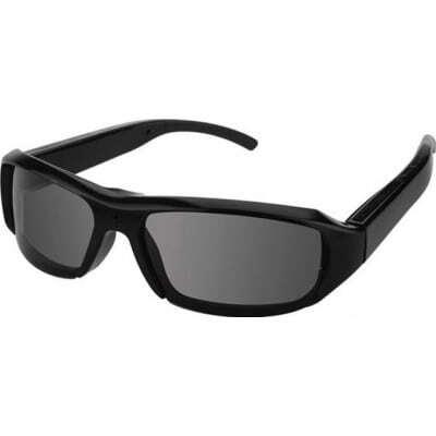49,95 € Spedizione Gratuita | Occhiali Spia Telecamera spia nascosta per occhiali da sole. Mini videoregistratore digitale (DVR). Registratore audio / video. Lente nera. Oc 1080P Full HD