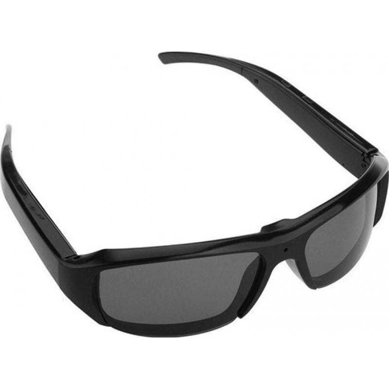 49,95 € Envoi gratuit | Lunettes Caméra Espion Caméra espion cachée de lunettes de soleil. Mini enregistreur vidéo numérique (DVR). Enregistreur audio / vidéo. Lentille noire 1080P Full HD