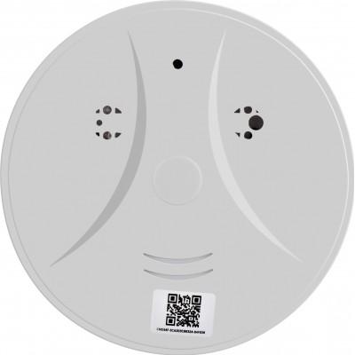 Autres Caméras Espion Détecteur de fumée caméra cachée. Wifi. Caméra espion. Détection de mouvement. Contrôlé et vu par téléphone 1080P Full HD